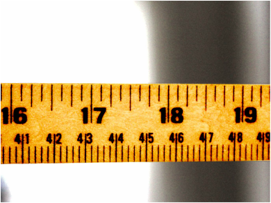 On Many Rulers We Can See Both The Customary Units Of Measurement And The Metric Units Of Measurement You Can See Inches